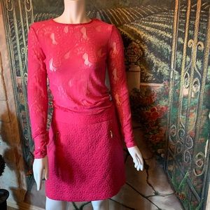 "Worthington ""Pink"" Skirt & Lace Top"